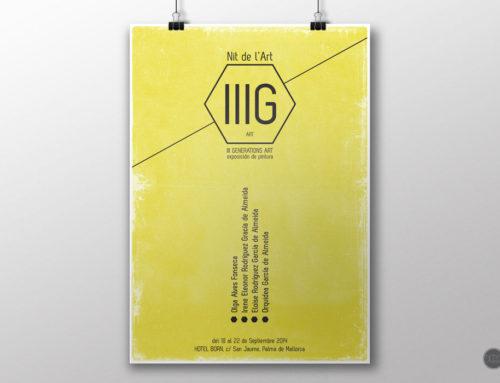 poster, Arte IIIG